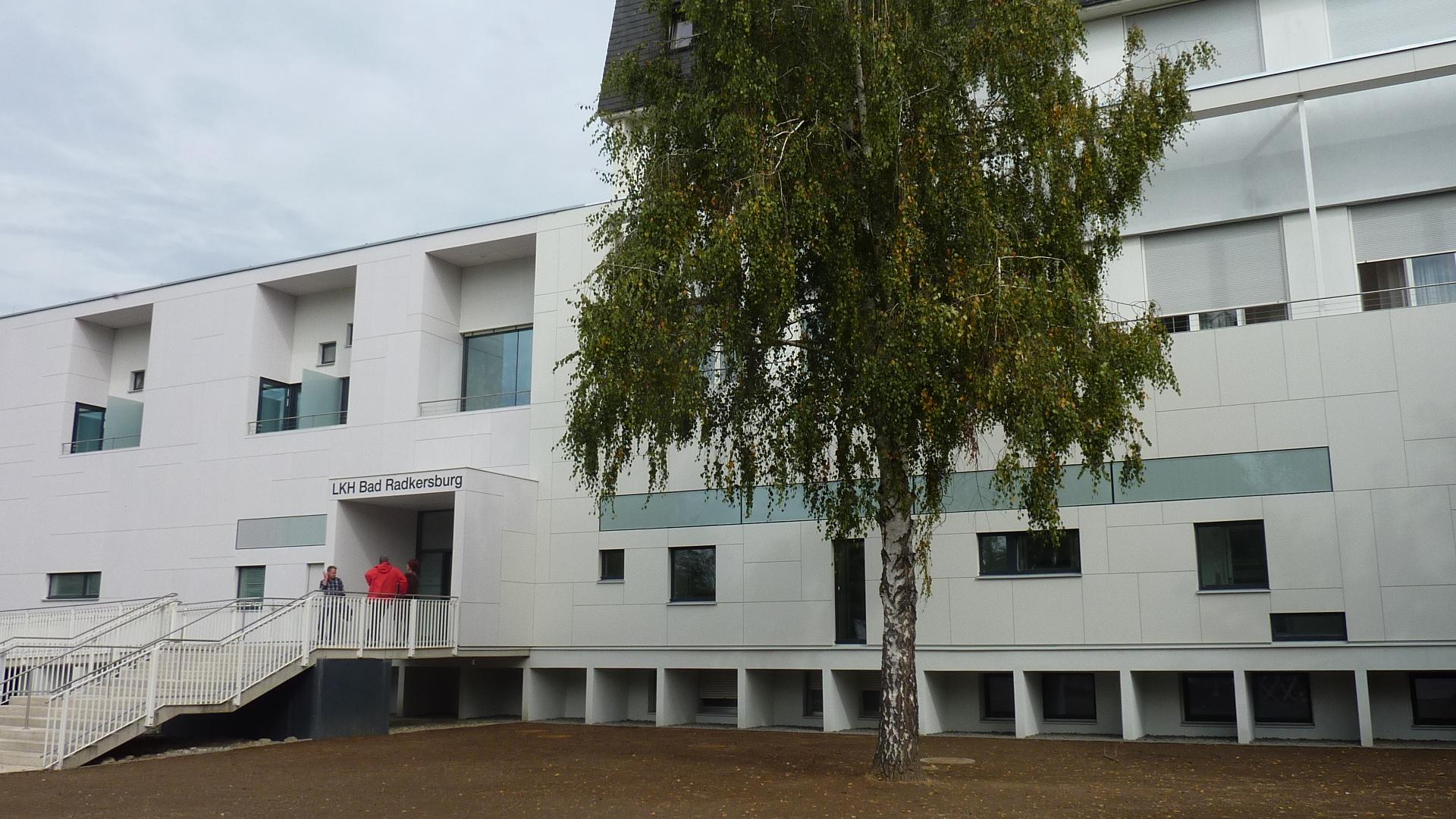 LKH Bad Radkersburg Außenansicht Gebäude